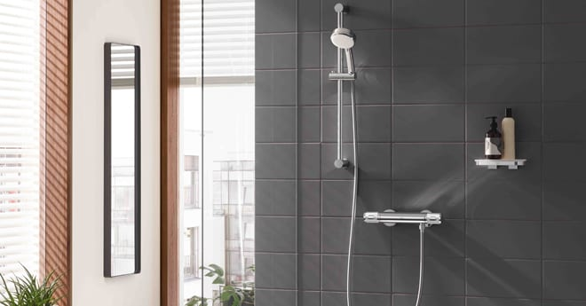 Popular - GROHE launches new range of shower thermostats including its first selection for low-pressure homes