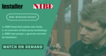 NIBE webinar boxset: discover heat pump technology with the experts
