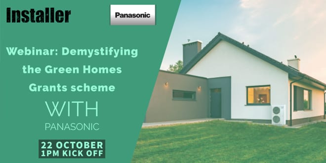 Popular - New Green Homes Grant scheme webinar available to watch on-demand