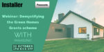 New Green Homes Grant scheme webinar available to watch on-demand