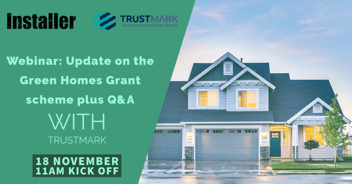 Popular - Webinar: An update on the Green Homes Grant plus Q&A