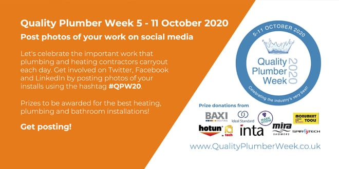 Popular - Quality Plumber Week 2020 is live