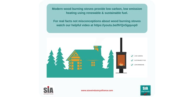 Popular - Woodburning stoves myths busted in new video