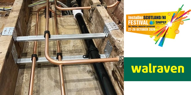 Popular - Walraven provides top product giveaway for InstallerSCOTLAND/NI FESTIVAL