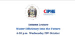 Webinar – Worshipful Company Autumn Lecture Wed 28 October