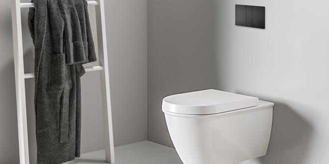 Popular - Viega launches matt black WC flush plates