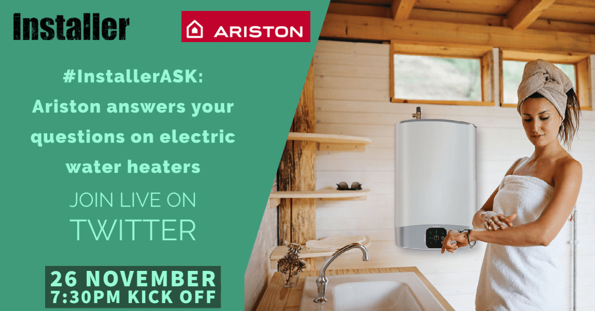 Popular - Ariston answers installers' questions live on Twitter