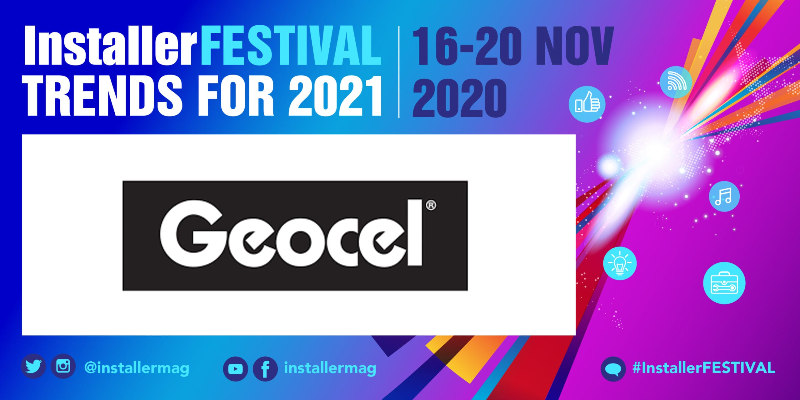 Popular - Geocel explains how you can make sustainable choices at InstallerFESTIVAL