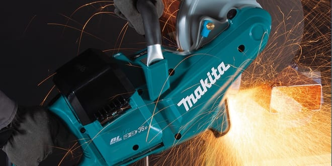 Popular - Makita launches new Twin 18V DCE090 Brushless Disc Cutter