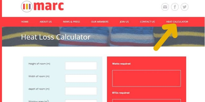 Popular - MARC launches online Heat Calculator to help consumers select the right rad