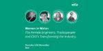 Webinar: Wilo puts spotlight on women in the water industry