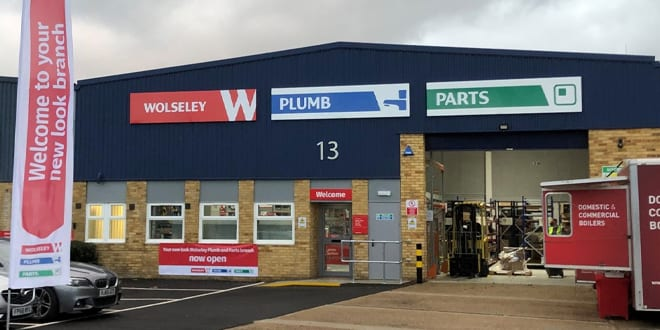 Popular - Wolseley Plumb & Parts brand annouced
