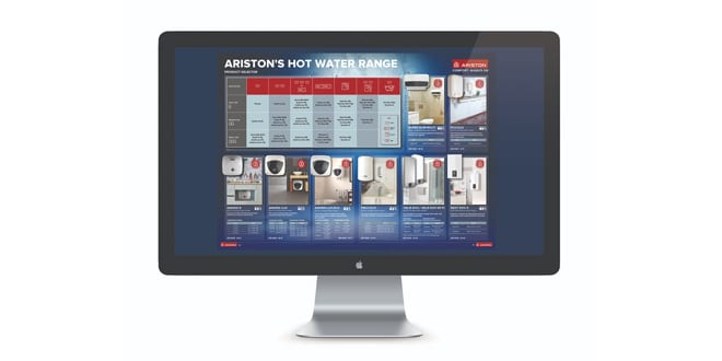 Popular - Ariston launches water heating sizing guide