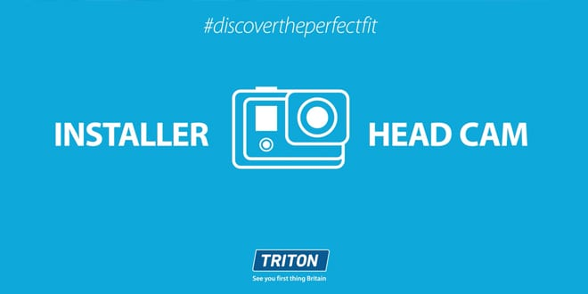 Popular - Triton launches installer head cam training videos