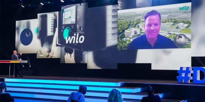 Popular - Wilo Wins 'German Sustainability Award' in the 'Climate Transformation' category