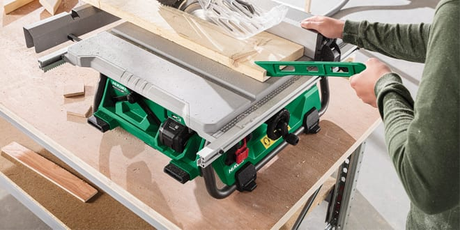 Popular - HiKOKI Power Tools UK launches C3610DRJ cordless table saw