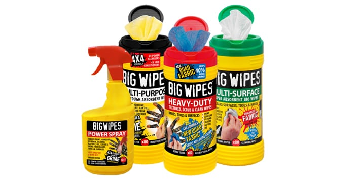 Popular - Win with Big Wipes at WolseleyLIVE