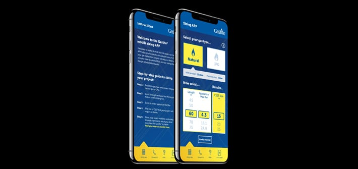 Popular - Gastite® launches revamped sizing app