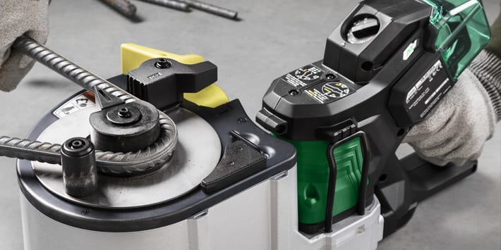 Popular - HiKOKI launches world's first Cordless Portable Rebar Cutter/Bender