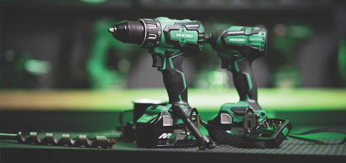 Popular - HiKOKI's brushless twin pack kits now available with 36V Multi Volt batteries