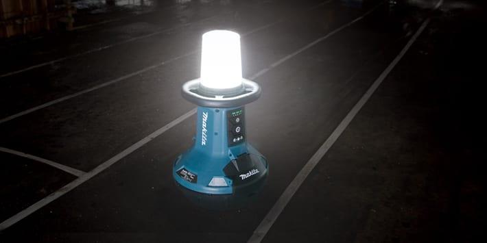 Popular - Makita launches new self-balancing area site light