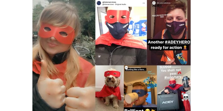 Popular - ADEY thanks heating industry's Superheroes with #ADEYHero
