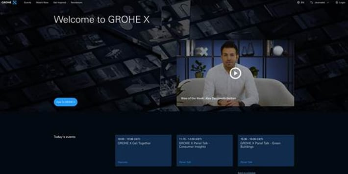 Popular - GROHE X digital experience hub celebrates successful launch