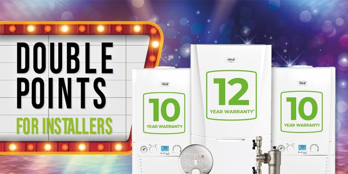 Popular - One month left for installers to earn double loyalty points with Ideal