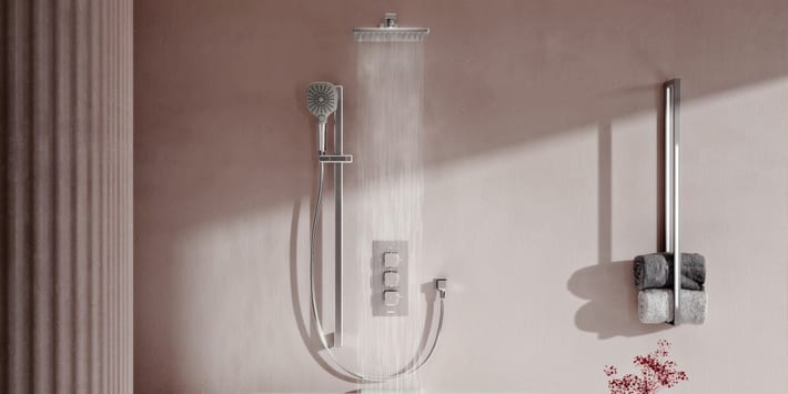 Popular - Aqualisa launches Dream thermostatic mixer shower range