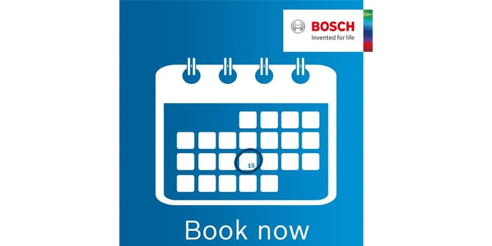 Popular - Bosch Commercial launches online booking system