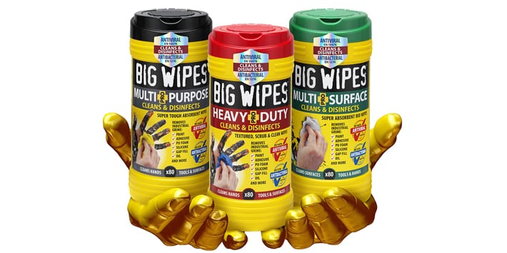 Popular - Big Wipes achieves antiviral accreditation