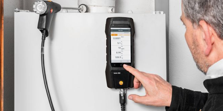 Popular - testo offering FREE gift with Flue Gas Analysers this Sping and Summer