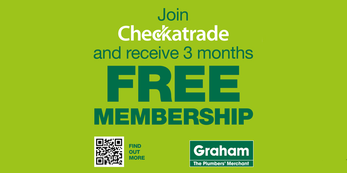 Popular - Graham partners with Checkatrade for exclusive offer