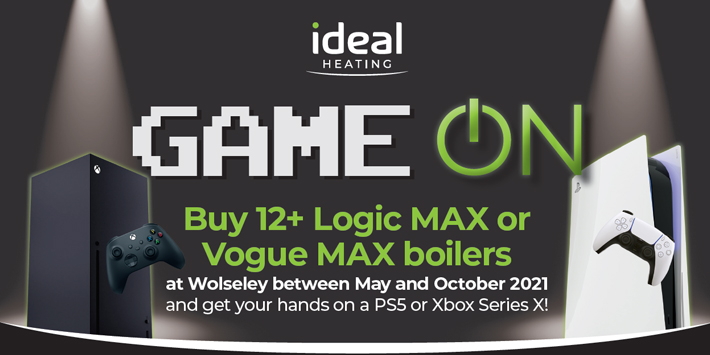 Popular - Ideal Heating and Wolseley Plumb & Parts launch new 'Game On' giveaway