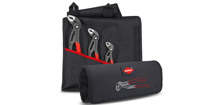 Popular - KNIPEX launches new Cobra® sets in a practical carry bag