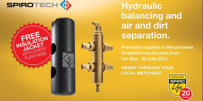 Popular - Spirotech launches new SpiroCross AX promotion
