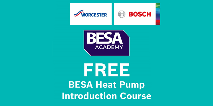 Popular - BESA, HBF and Worcester Bosch launch free-of-charge Heat Pump Installer Course