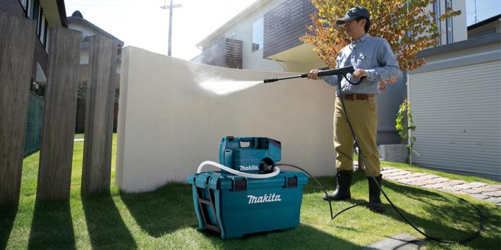 Popular - Makita launches new 36V LXT Cordless Brushless Pressure Washer