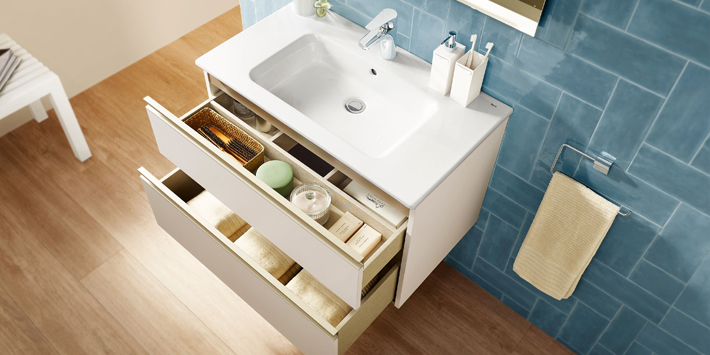 Popular - Roca extends The Gap range of bathroom furniture