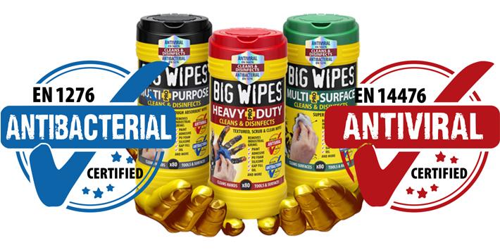 Popular - Big Wipes giveaway at InstallerSCOTLAND Festival