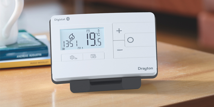 Popular - Drayton launches next generation Digistat – With Bluetooth connectivity