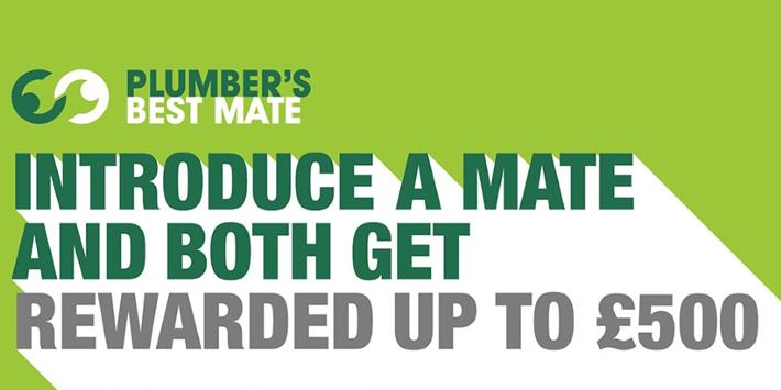 Popular - Graham launches Plumber's Best Mate referral scheme