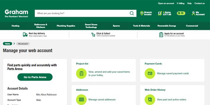 Popular - Graham launches brand new transactional website