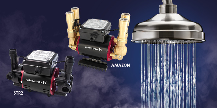 Popular - Shower pumps that can take the pressure