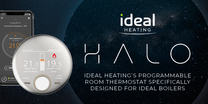 Popular - 2-Zone upgrade launched for Ideal Heating's Halo range