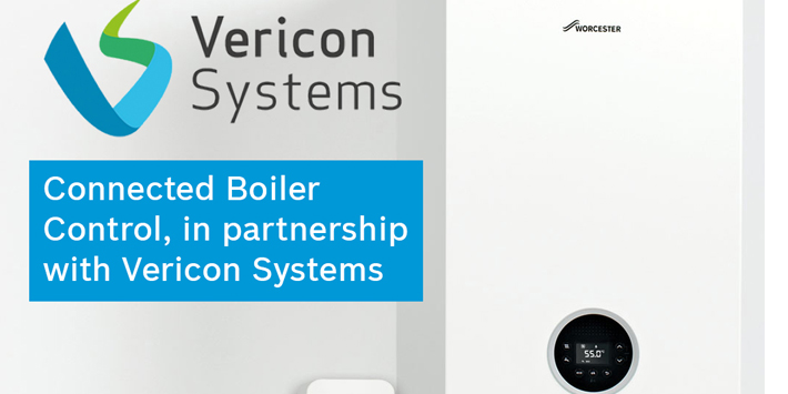 Popular - Worcester Bosch partners with Vericon Systems to offer connected boiler control