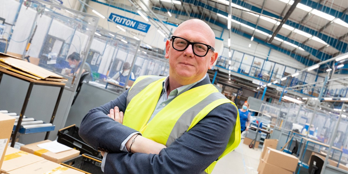 Popular - Triton's new Operations Director focusses on sustainability goals