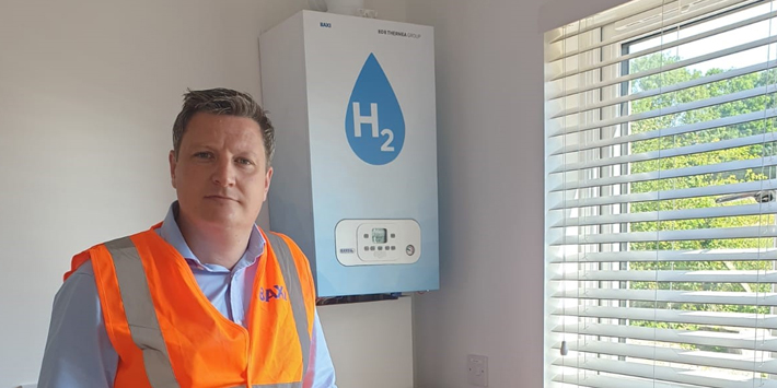 Popular - Baxi demonstrates hydrogen boiler in UK's first hydrogen house