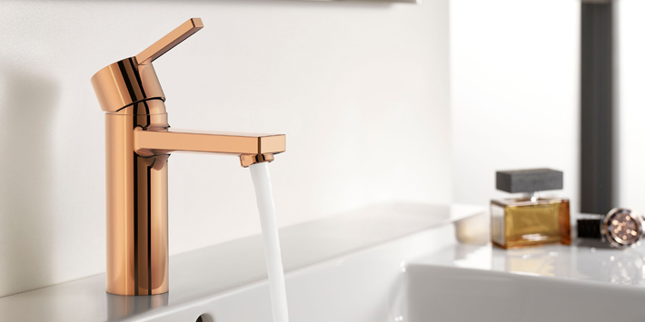 Popular - Roca introduces two new colours to its Insignia and Naia brassware collections