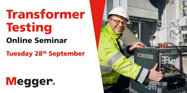 Popular - Free transformer testing seminar from Megger